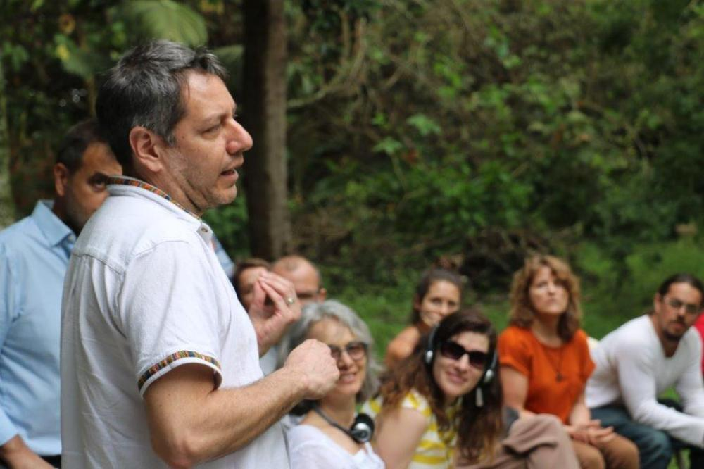 Ernesto Mendez Joins International Researchers, Farmers, and Activists in Brazil