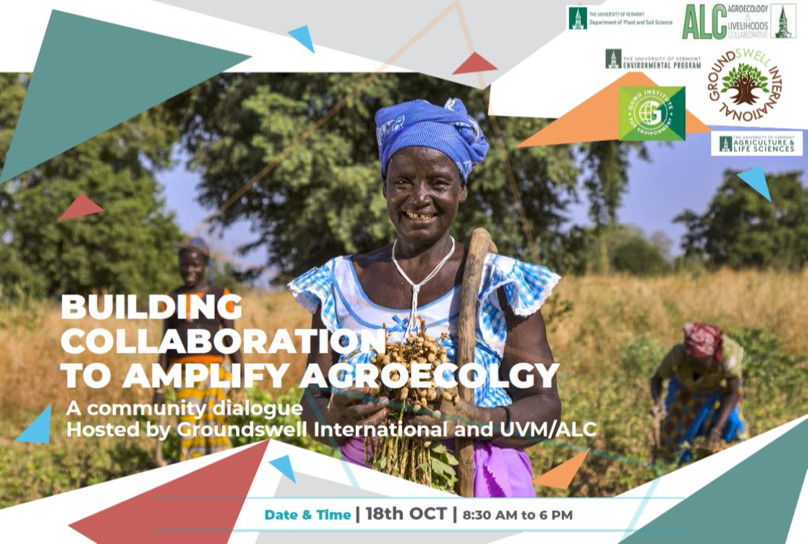 ALC and Groundswell International Co-Host Agroecology Conference at the University of Vermont (UVM)