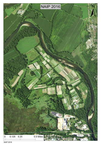 Exploring agroecology at the Intervale from a bird's-eye view