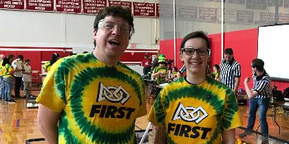 participants and volunteers at FIRST Tech Championship