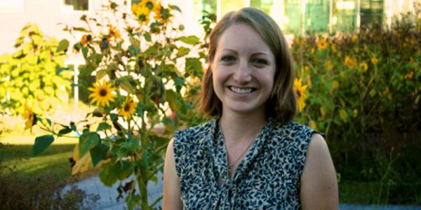 Phoebe Spencer, recent grad of UVM's Gund Institute, was recently hired by the World Bank