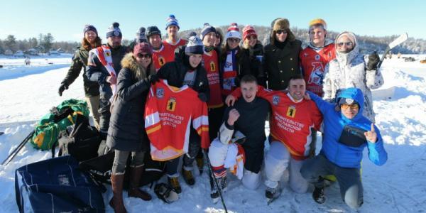 Yaroslavl hockey team