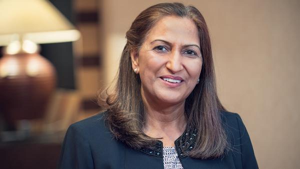 Portrait of Dita Sharma