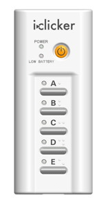 iClicker device
