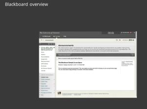 thumbnail link to open gif of Blackboard screenshots