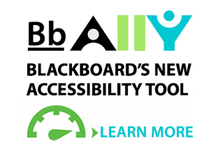 Learn about Blackboard Ally, the new accessibility tool.