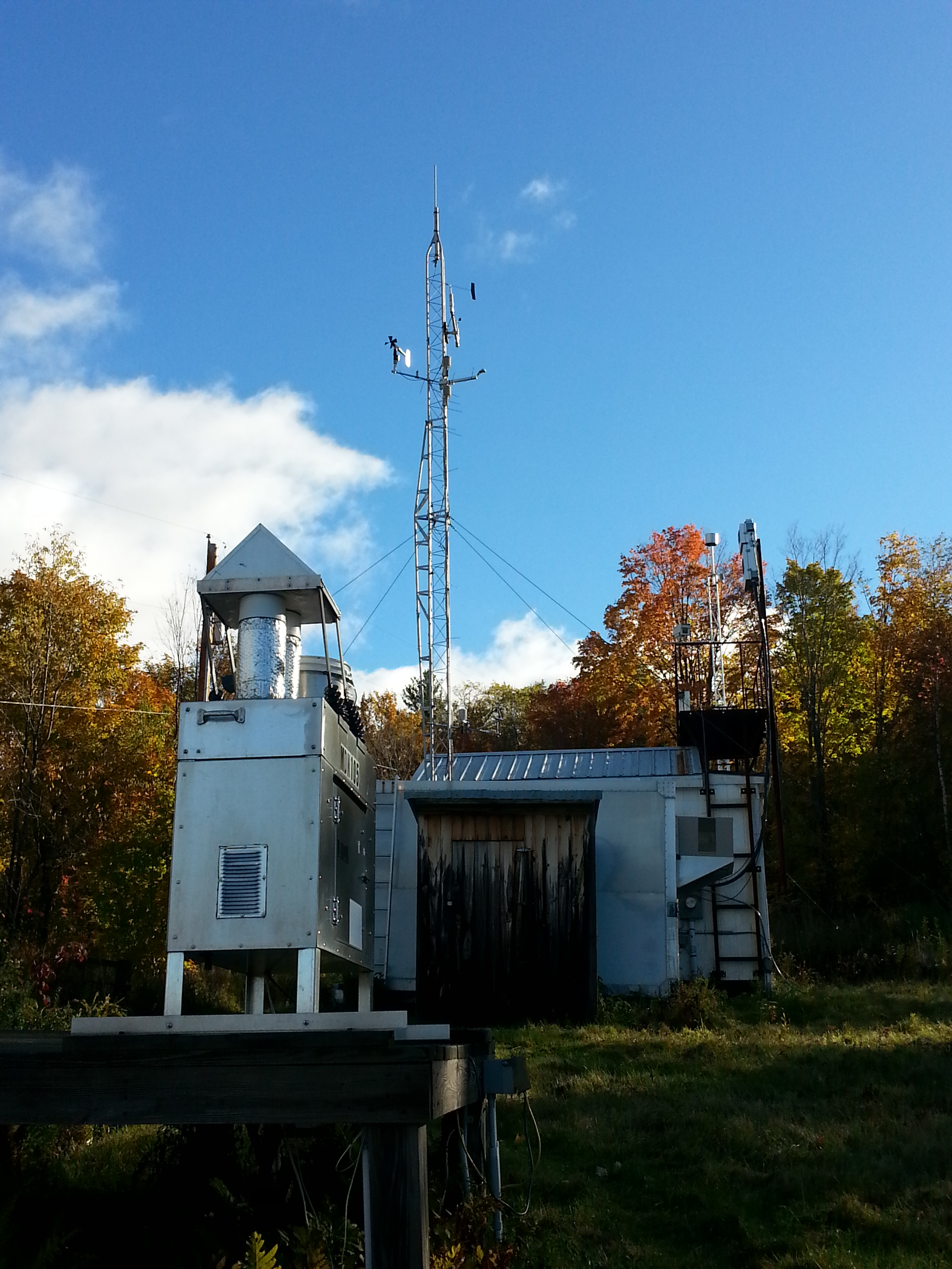 Main page image for Proctor Maple Research Center Meteorological Monitoring: (399 m)