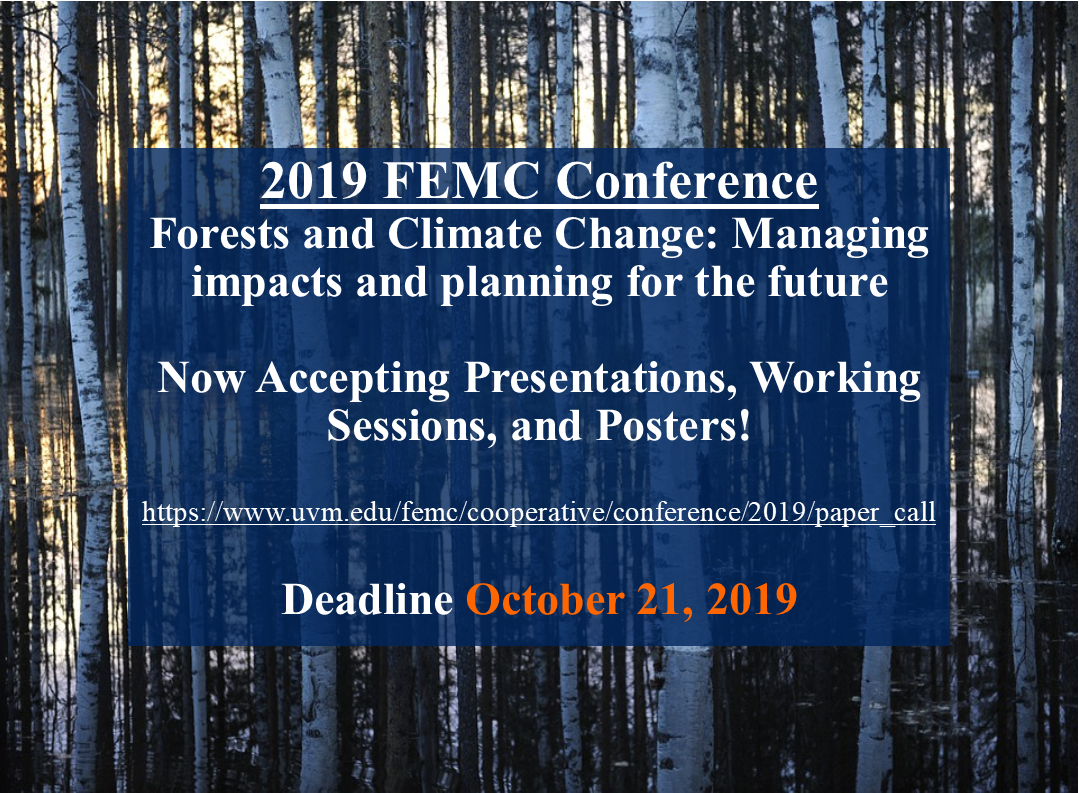 Thumbnail for 2019 FEMC Conference Now Accepting Talks, Posters, and Working Sessions news item