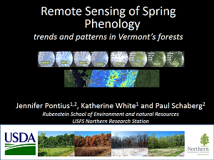 Thumbnail of talk by Jennifer Pontius,  Katherine White and Paul Schaberg