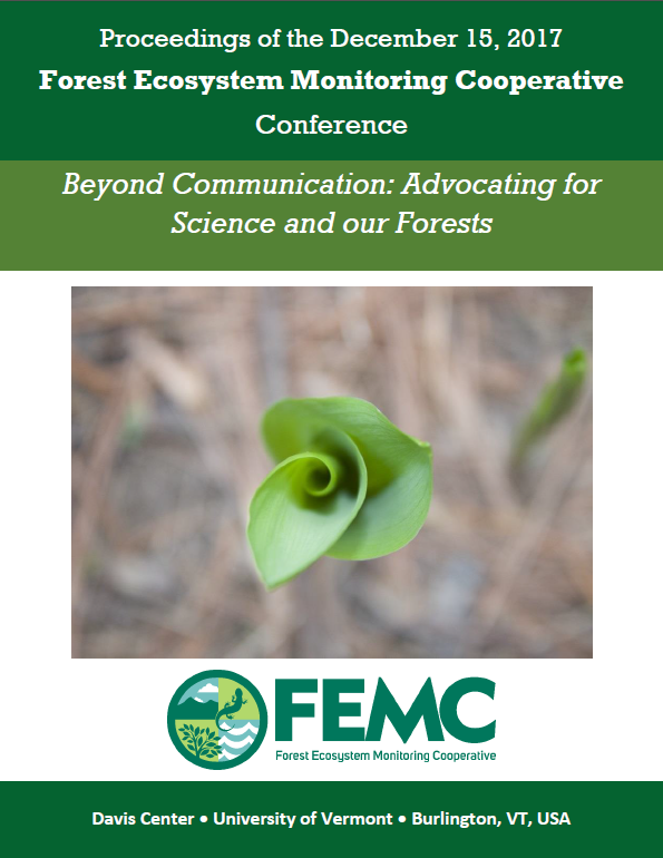 Image of the front cover of the 2017 FEMC Conference Proceedings