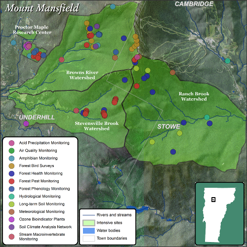 Mt. Mansfield Map