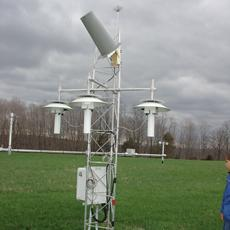 Cary Institute weather monitoring equipment