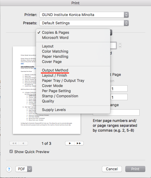 Printers: Faculty and Staff – ETS Knowledge Base