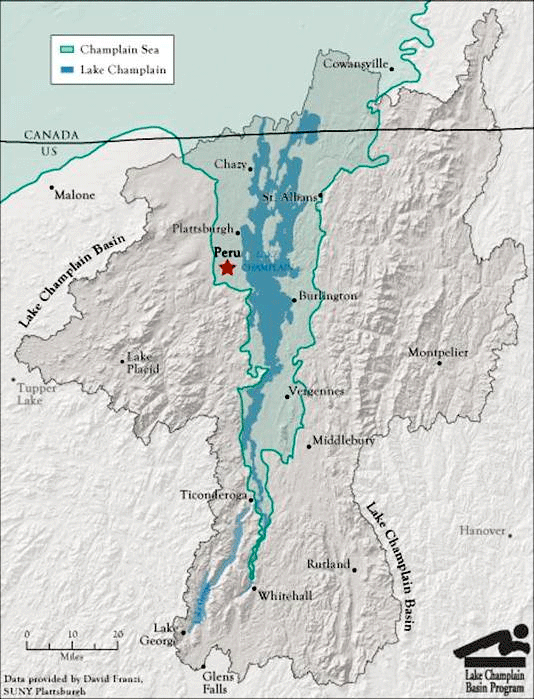 the evolution of lake champlain basin
