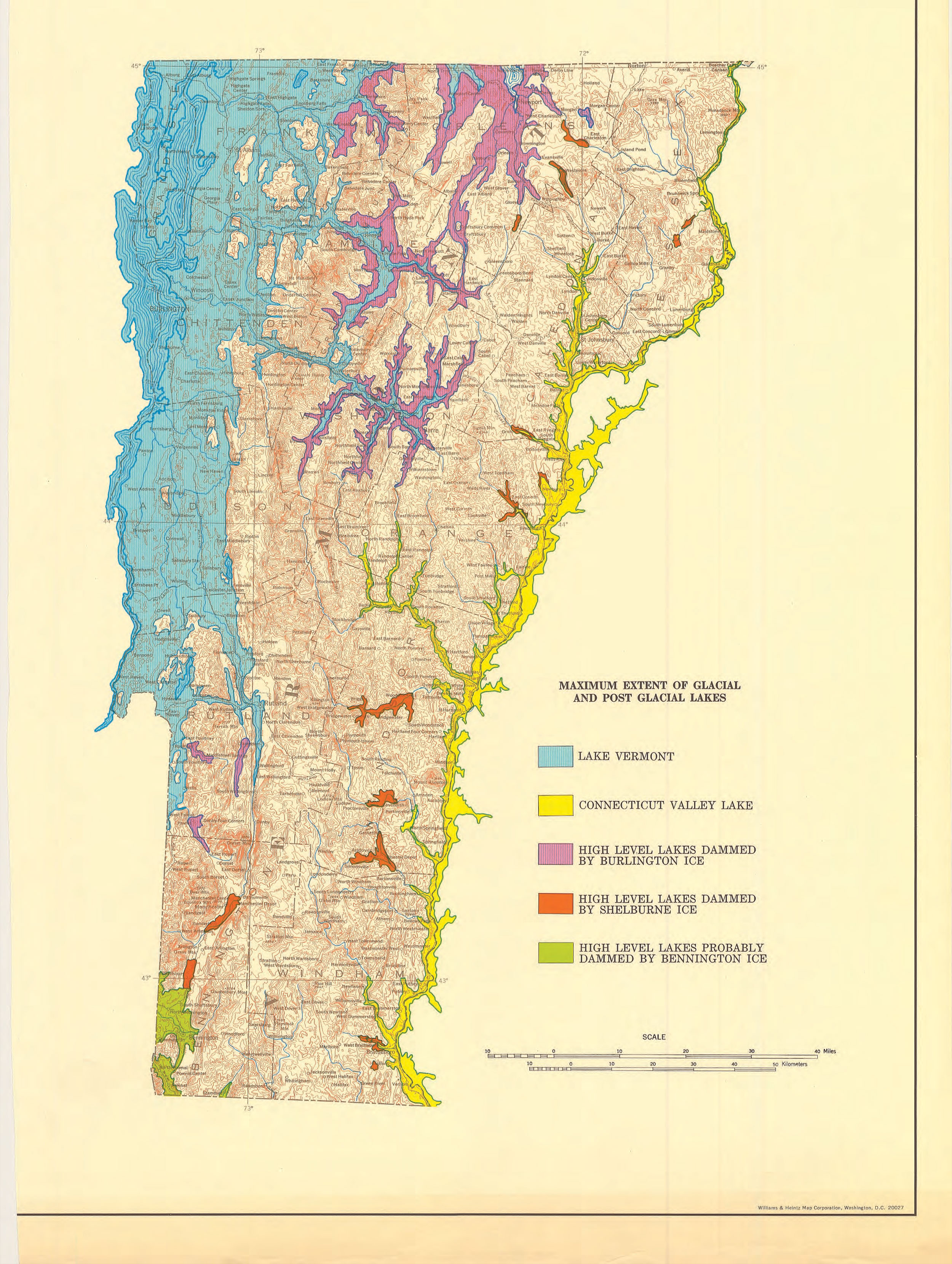 geologic map of vermont The Uvm Place Program geologic map of vermont