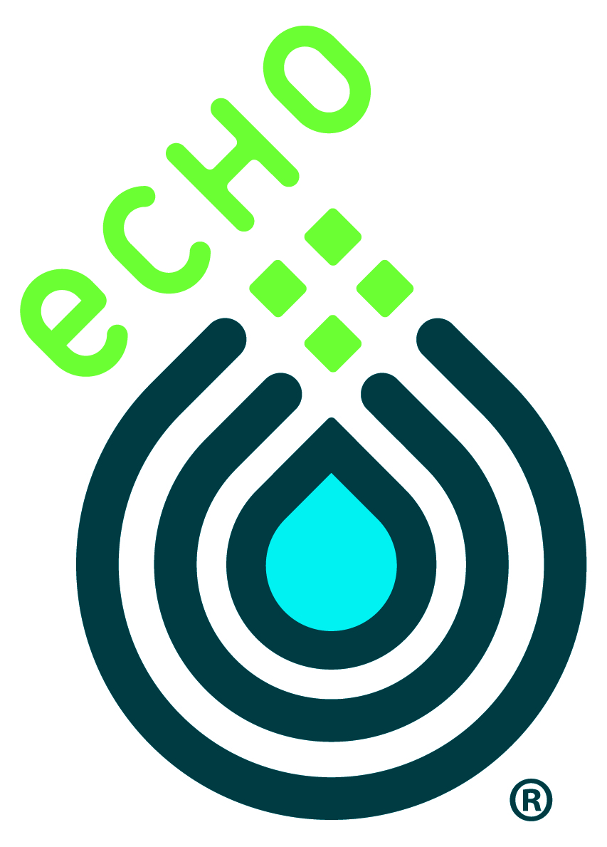 ECHO, the Leahy Center logo
