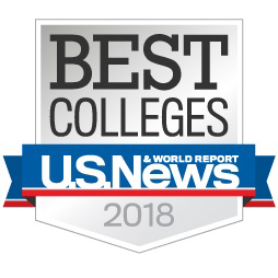 U.S. News Report - Best College badge