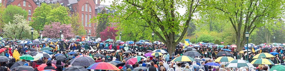 Commencement Main Ceremony 2018