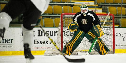 student sports - hockey training