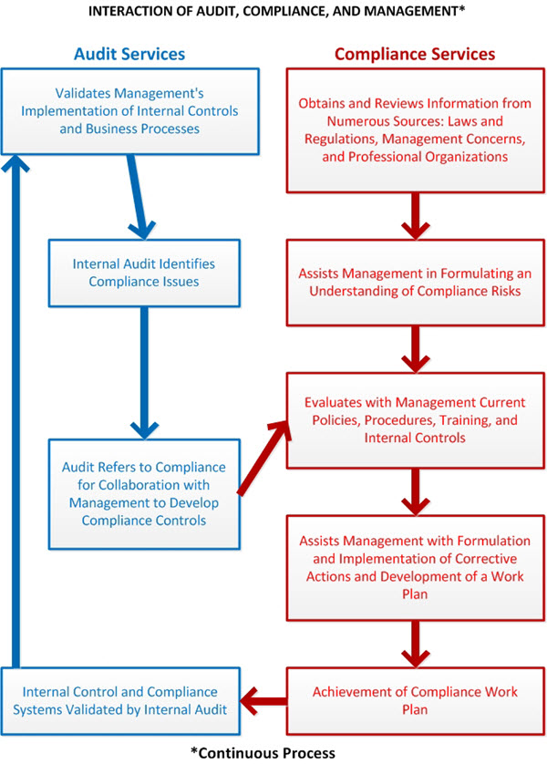 Audit-Compliance workflow chart