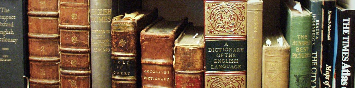 Books of Antiquity on American and English literature.
