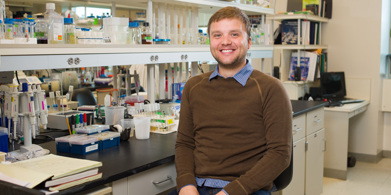 Devin Champagne's discovery could help boost flu vaccine response