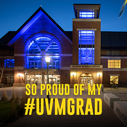 so proud of my #uvmgrad
