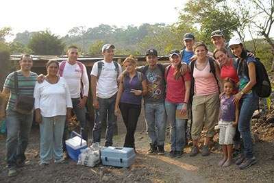 Engineers Without Borders members