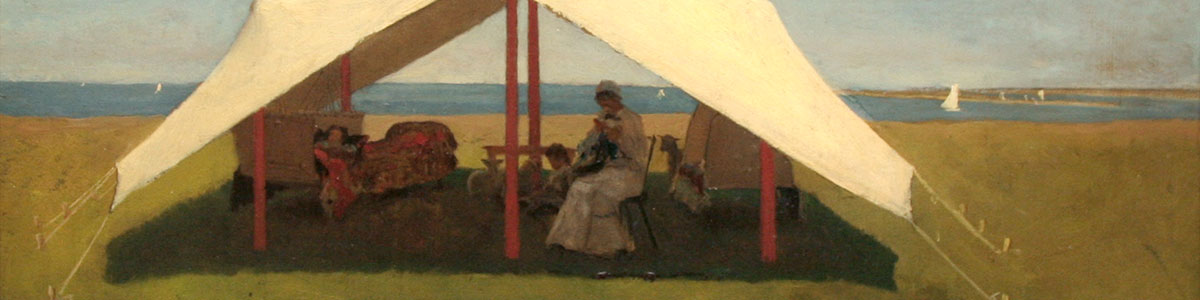 Detail from a Winslow Homer painting
