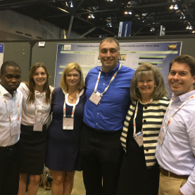 Cathy Donnelly, grad students and researchers at IAFP