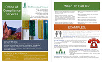 What the Compliance Office does infographic