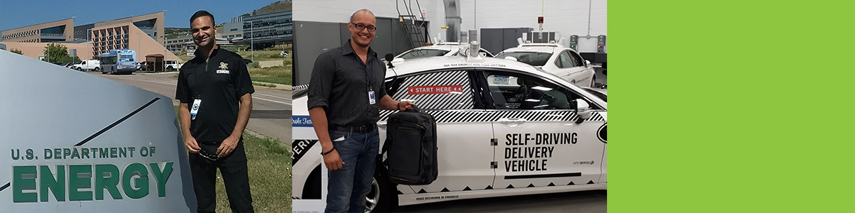 Graduate student internship next to Ford Motor Company driverless car