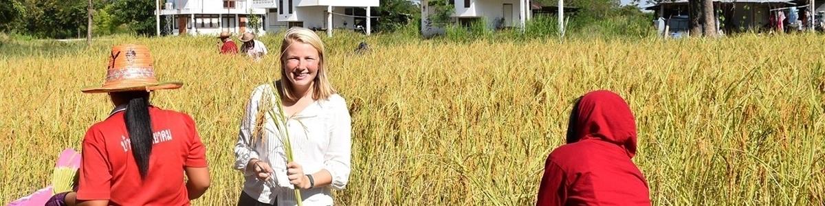 Meg Ziegler '15 in Thailand