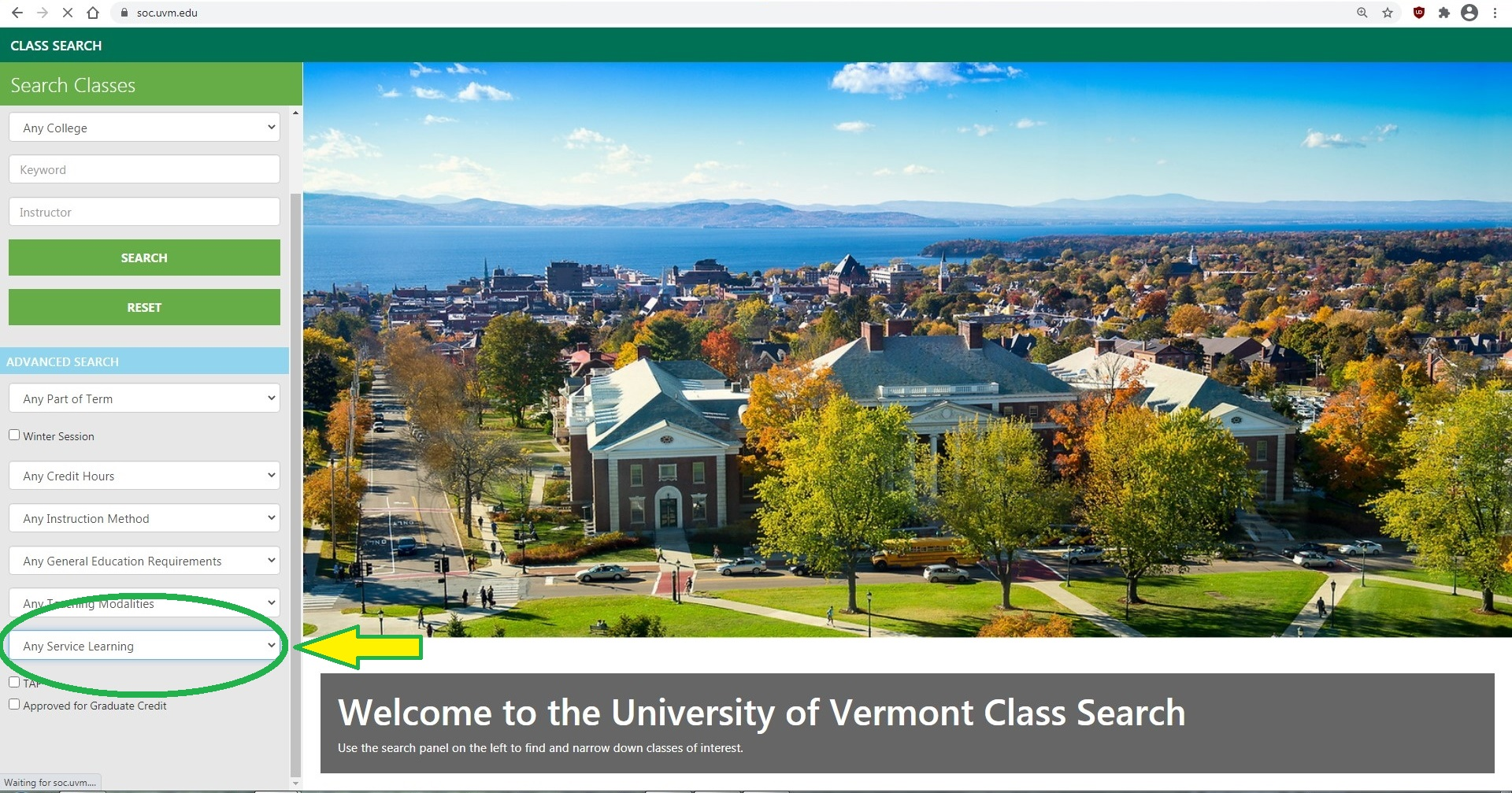 UVM SOC screenshot