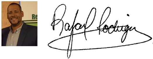 picture and signature of director