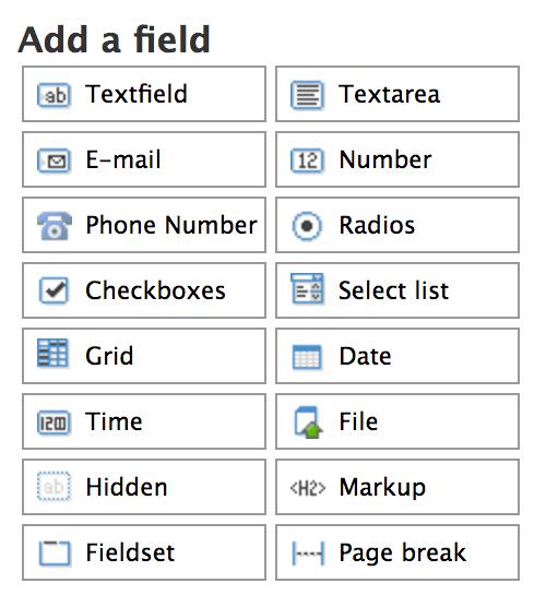 Build an online form   UVM Drupal Web Guide   The University of Vermont