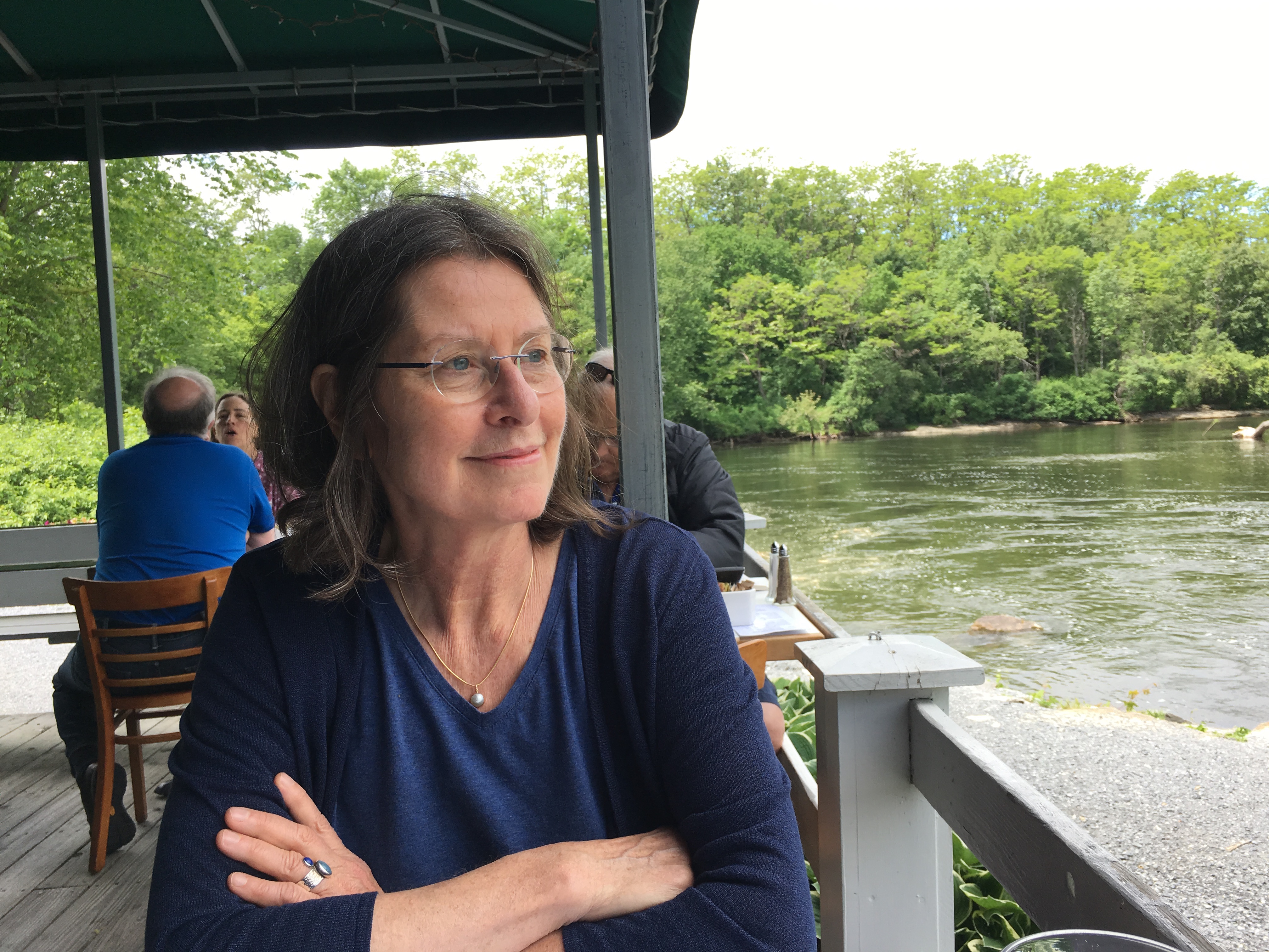 Shirley in Middlebury by the lake