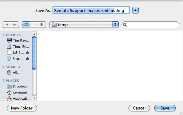 window asking to save file