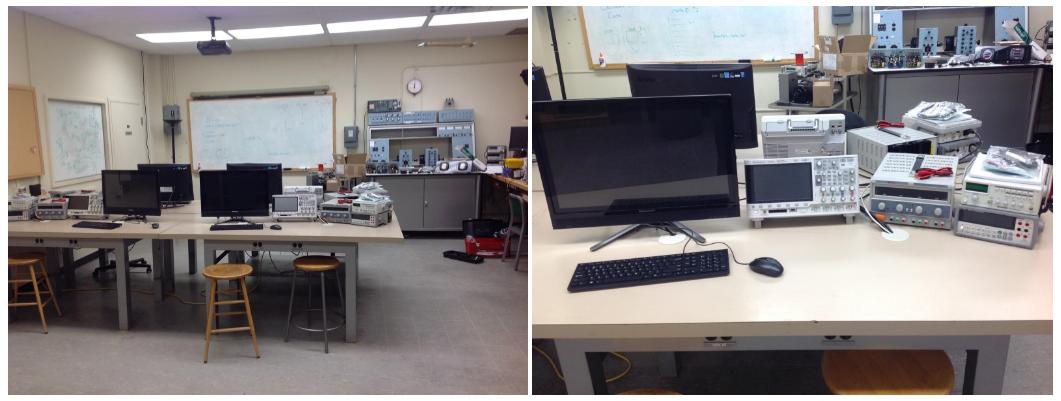 Interior of a lab