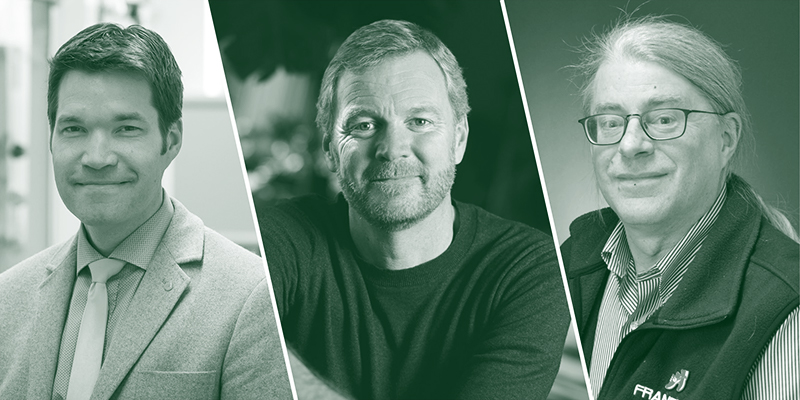 Rory Waterman, Taylor Ricketts, Christopher Francklyn