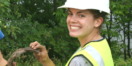 Students get a chance to do fieldwork