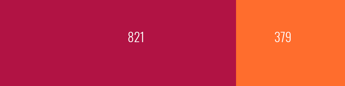 Placeholder banner split into two images– 821 and 379 pixels wide