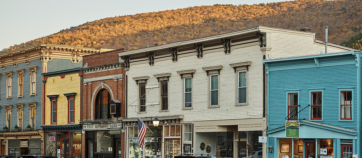 Downtown Bristol Vermont