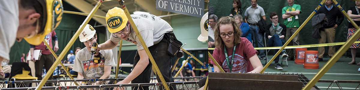 UVM Hosts ASCE Competition