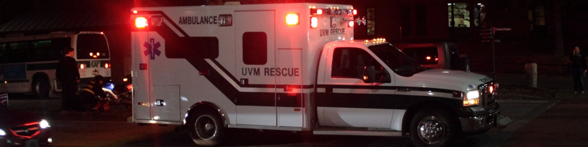 UVM Rescue Responds to Vehicle Collision