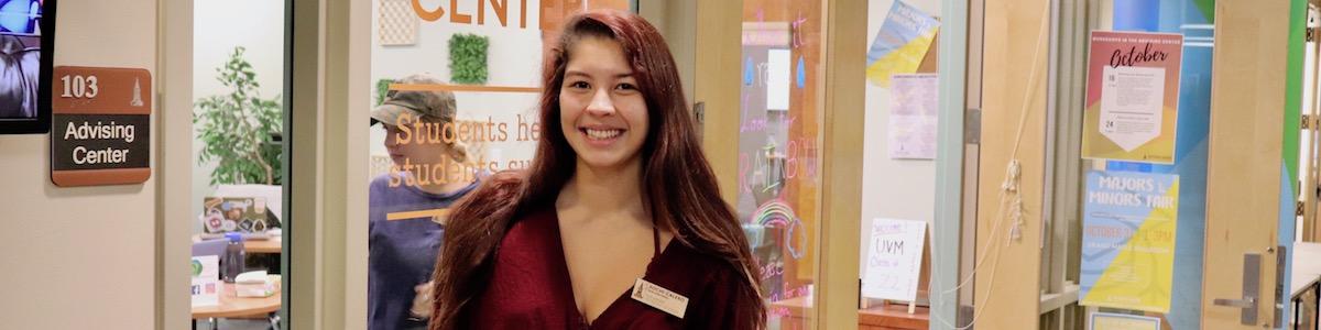 UVM Social Work student Xochi Calero