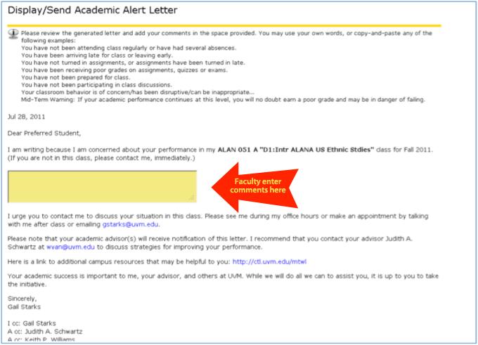Academic Alert 2