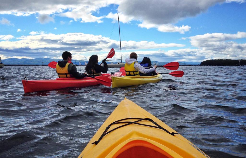 ALANA TREK Group Shot - Kayaking
