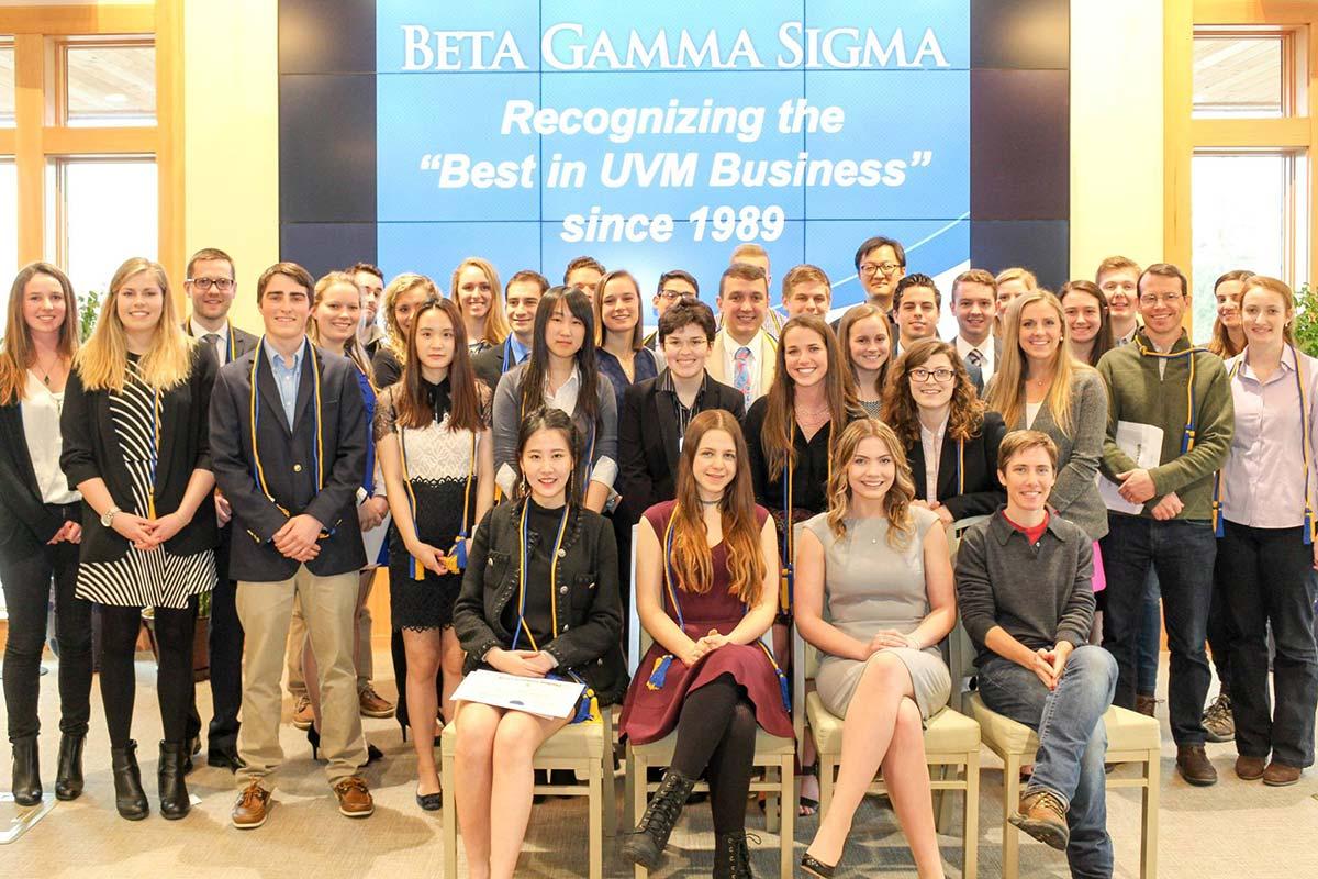 beta gamma sigma grossman school of business the university of
