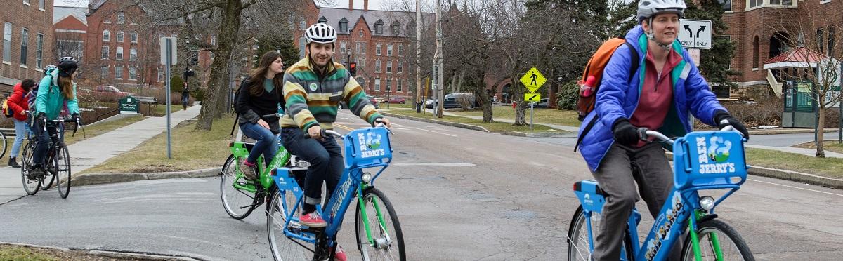 bikeshare bikes on College St